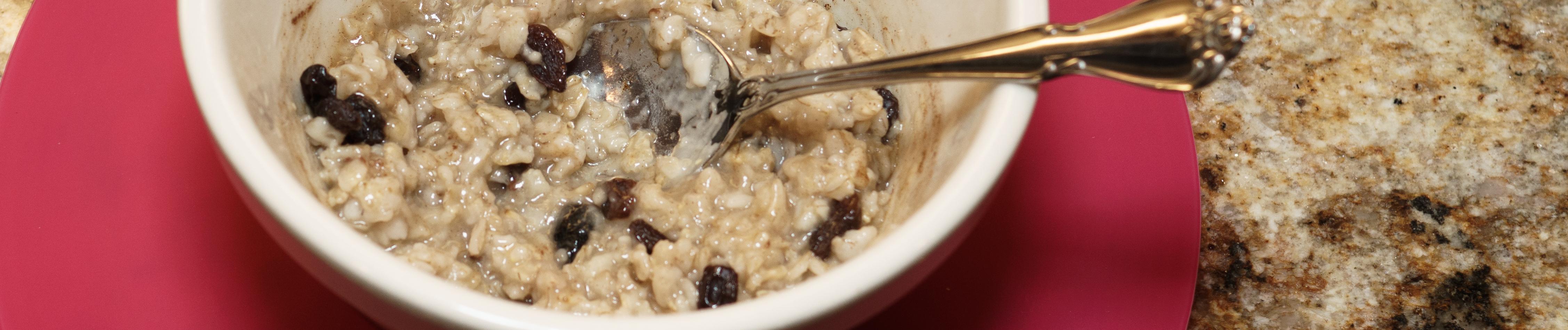 Oatmeal banner photo